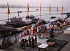 Boats I, Ganges River, Varanasi, India (Bronica 645)