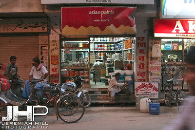 """Banares Painted Red"", Varanasi, Uttar Pradesh, India, 2006 Print IS2906-372"
