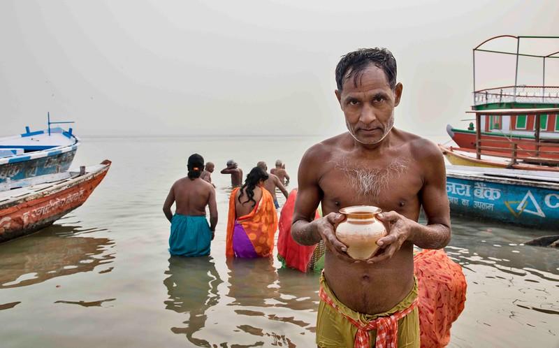 Varansi prayer