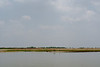 View of the Ganga River before the monsoons