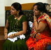 Jitendra's mother and sister arrive to apply pithi on Lucie