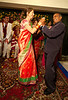 Lucie's mother and Jitendra's father share a dance