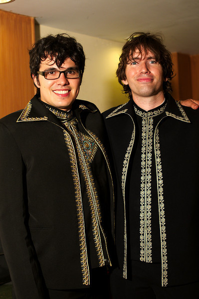 James and Yann, best dressed men of the wedding