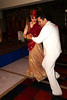 Lucie and Jitendra share a swing dance