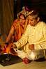 Vivan Havan: The bride and groom say prayers and make offerings around the sacred fire