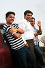 Shanu, Prashant and Kamindra watch the dancing