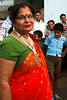 Jitendra's mother cracks a smile