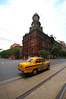 Kolkata's colonial architecture and yellow taxis
