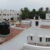 Ein Panorama von den Dächern.