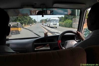 Auf dem Weg nach Chennai.f