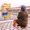 Oracion en el estanque. Golden temple, Amritsar