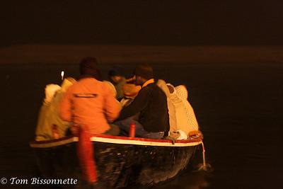 Nightime Along the Gangi!