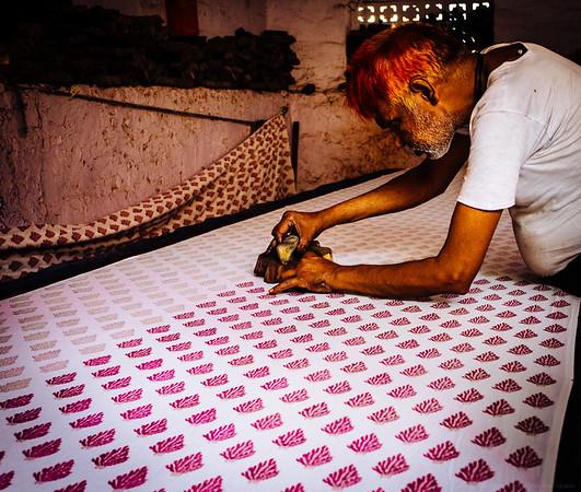Handblocking and Henna