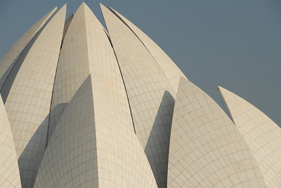 Baha'i Lotus Temple in Delhi
