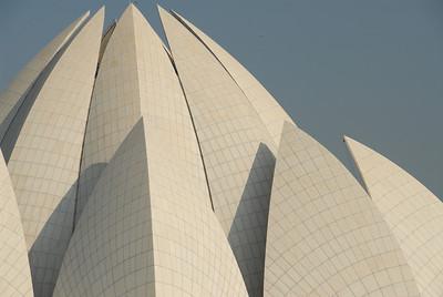 Baha'i Lotus Temple in Delhi