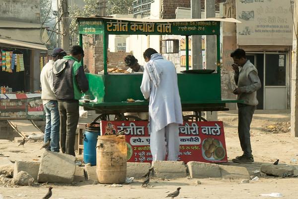 Breakfast vendor