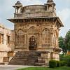 East side of Jami Masjid at Champaner in Gujarat, India