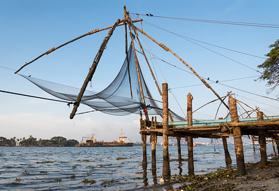 Chinese fishing net, Cochin
