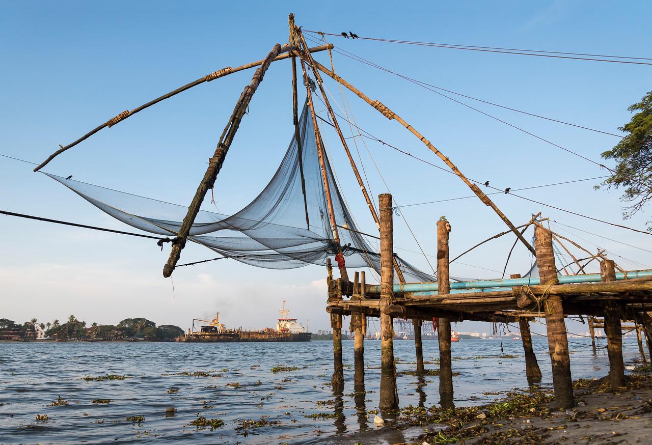 Chinese fishing net, Cochin