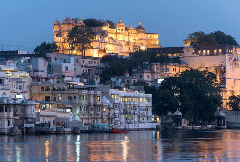 City Palace by Night, Udaipur