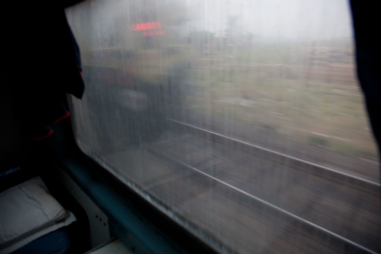 My one complaint about Indian Railways - quite a few of the windows were bad and you could not really see outside.