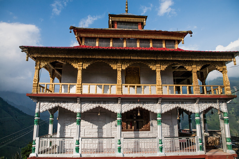 A temple in Raithal, a village in the Garhwal Himalayas of Uttarakhand