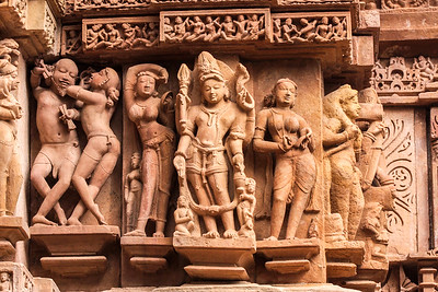 Khajuraho Temple Sculpture