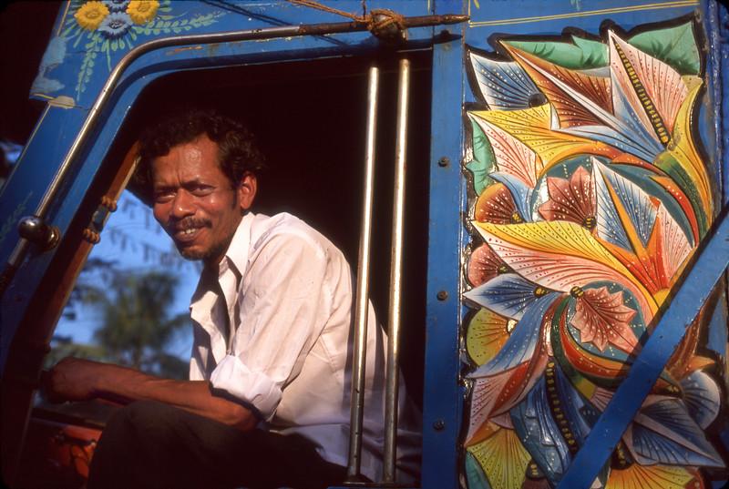 Decorated truck, Kochi (Cochin), India