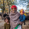 People of Jaipura Garh, Rajasthan, India