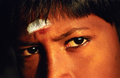 Eyes of Indian Boy
