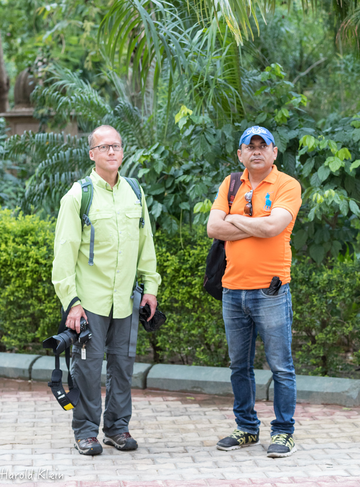 Chris Balmer and Syed Adil Ali...our outstanding guide for the entire trip!!