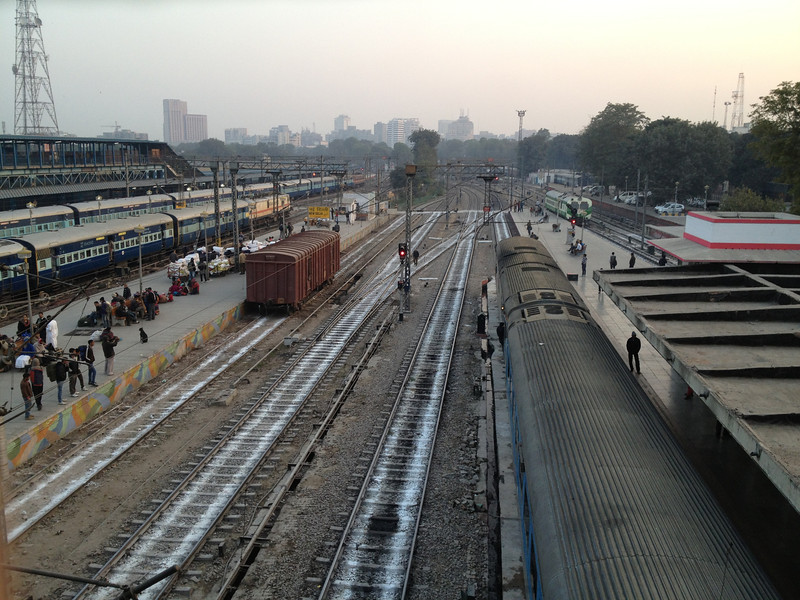 New Delhi Railway Station.