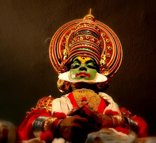 Kathakali actor, Kochi