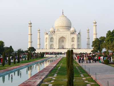 The Taj Mahal is located in Agra,  Uttar Pradesh,  India.