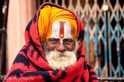 Hindu Brahmin Priest Portrait