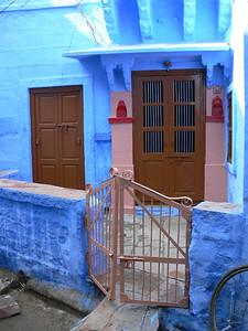 "Beautifully painted ""The Blue City"".  Jodhpur,  India."