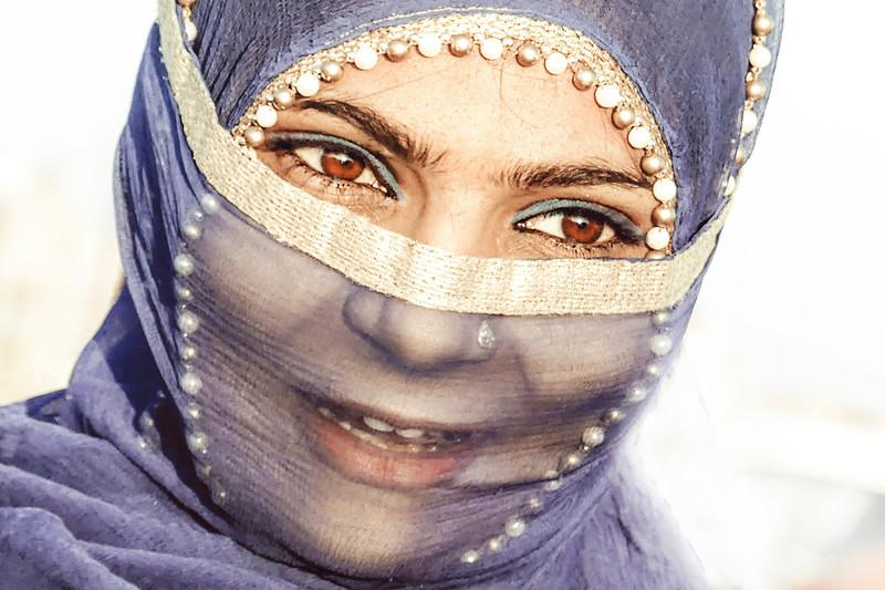 Mujer musulmana de Ahmedabad