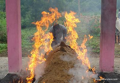 Funeral Pyre, Tamil Nadu
