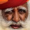 Anciano del Rajastan