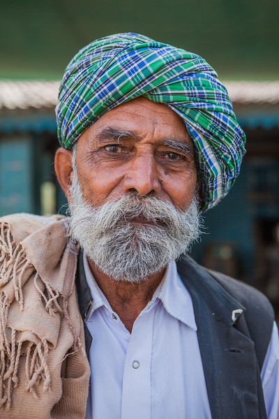 A Kutchy man, Gujarat, India
