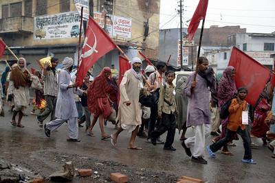 Communist March, Kolkatta