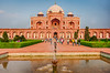 Asia. India. View of Humayun's Tomb in New Dehli.
