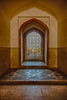 Asia. India.Interior view of Humayun's Tomb in New Dehli.