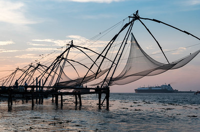 Chinese fishing nets, Fort Kochin