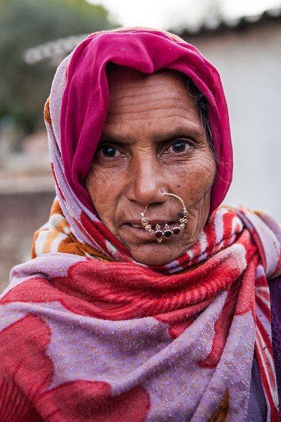 A woman from of Jaipura Garh, Rajasthan, India