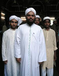 Fayazahmed Barkati and Students, Old Delhi