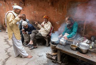 Tea Stall, Varanasi