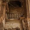 Inside the Jami Masjid at Champaner in Gujarat, India