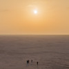 Sunrise at the White Rann of Kutch, Gujarat, India