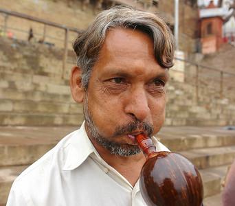 Horn Seller, Varanasi